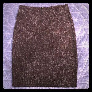 Black Textured LuLaRoe Cassie Skirt Size L
